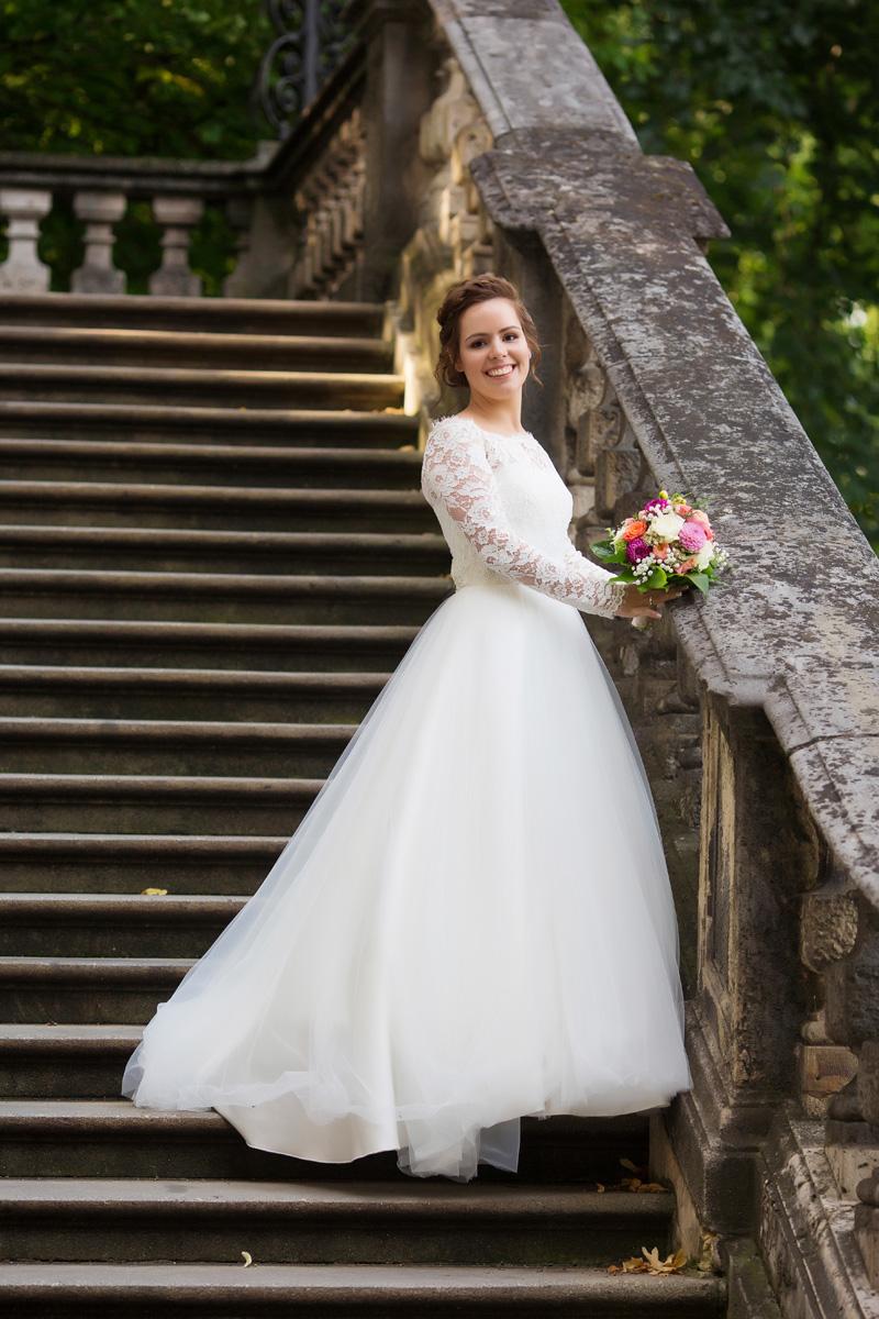 Hochzeitspaar Fotoshooting in München