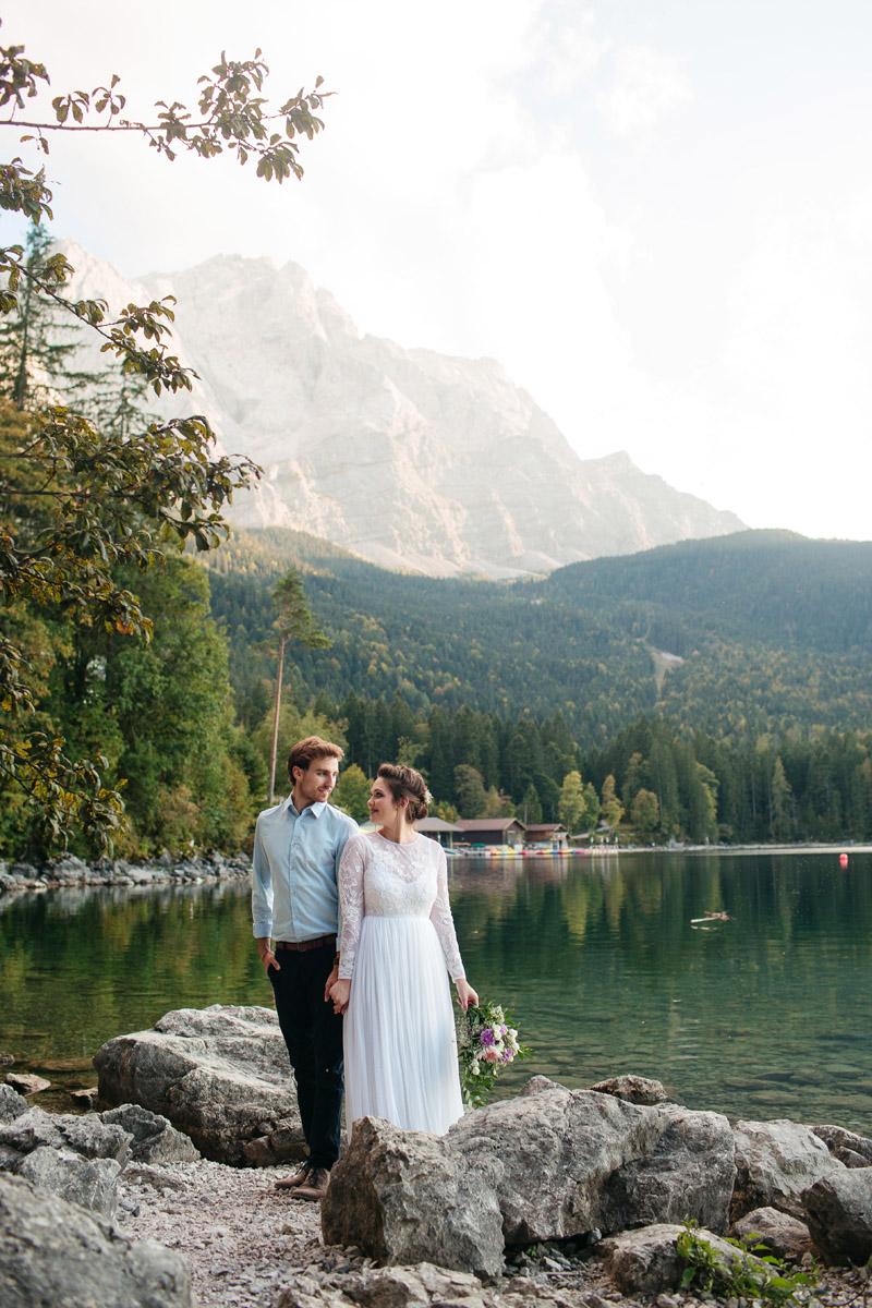 Paarfotoshooting Alpen