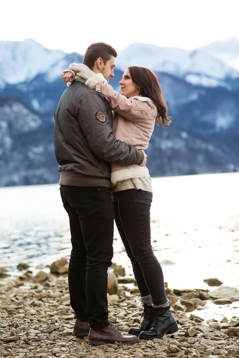 Paarhooting in den Bergen