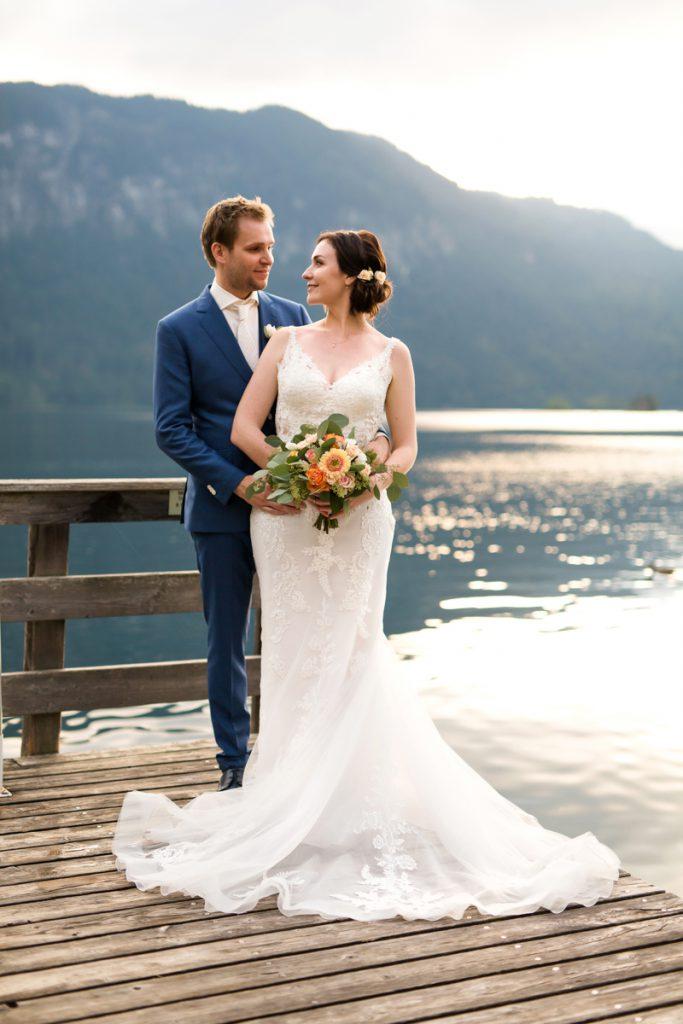 Hochzeitsfotografie Hochzeit am See
